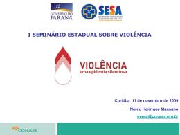 Slide 1 - Secretaria de Estado da Saúde do Paraná