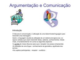 Argumentação e Comunicação
