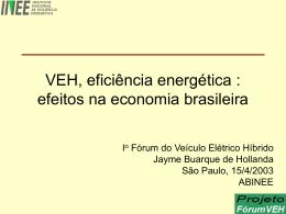 VEH - Economia Brasileira