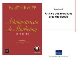 Análise dos mercados organizacionais