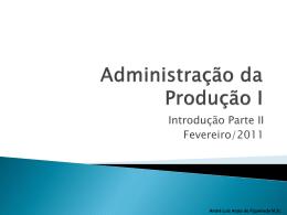 Logística de Suprimentos - Universidade Castelo Branco