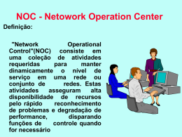 NOC - Netowork Operation Center