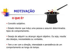 Motivação (slide)