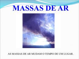 massas de ar - Colégio Cor Jesu
