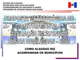 2005 Monitorar e avaliar a Atenção Básica à Saúde no