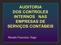 Auditoria Controle Interno