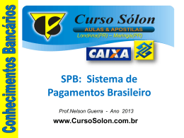 SPB - Curso Sólon Concursos