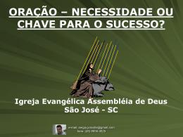 ORAÇÃO - AD São José