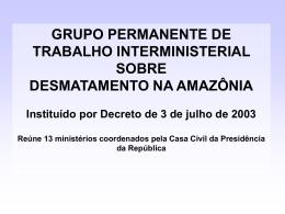 Grupo Permanente de Trabalho Interministerial sobre