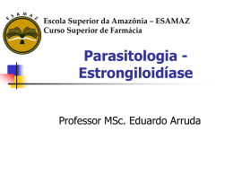 Estrongiloidiase-2014 - Página inicial