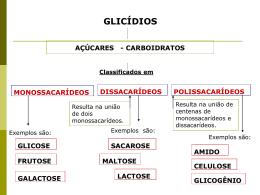 GLICÍDIOS - Marcelinas