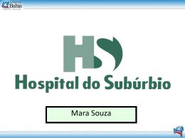 Hospital do Subúrbio - PPP - Saeb
