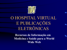 O HOSPITAL VIRTUAL