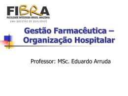 Organizacao-Hospitalar - Página inicial