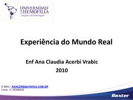 Experiência do Mundo Real - Ana Claudia Acerbi Vrabic