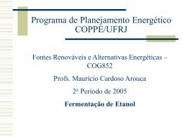 PPT - Fórum Nacional de Energia