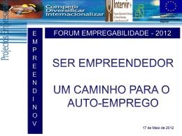 empreendinov ii - Instituto de Desenvolvimento Empresarial