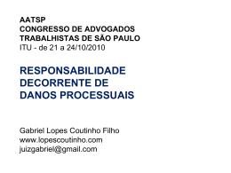 Oportunidade para a cidadania - Gabriel Lopes Coutinho Filho
