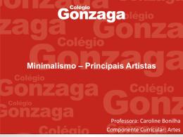 Minimalismo – Principais Artistas