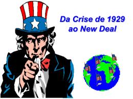 Da Crise de 1929 ao New Deal