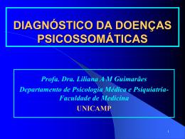 Diagnóstico das doenças psicossomáticas
