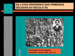 as lutas operarias nas primeiras decadas do seculo xx