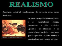 Realismo - Colégio Energia Barreiros