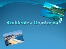 Ambientes litorâneos