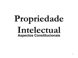 ESA-SP - Bases Constitucionais da PI (Abreviado)