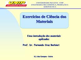 Extra - Lista de Exercícios UNIVERSIDADE