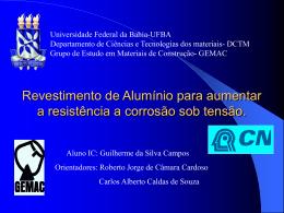 Apresentação - Universidade Federal da Bahia