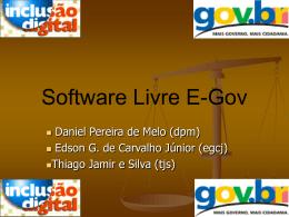 Software Livre E