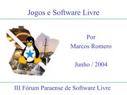 Jogos e Software Livre