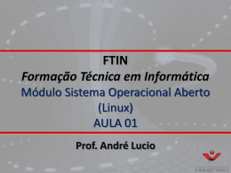 FTIN - Sistema opera..