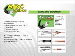 UTILIZAÇÃO: CFTV, Antenas UHF/VHF, Parabólicas, TV a Cabo