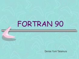 fortran 90 - 3