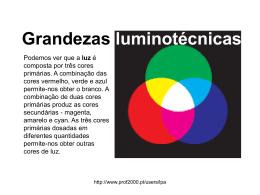 Grandezas luminotécnicas