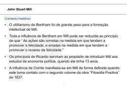 John Stuart Mill - Erudito FEA-USP