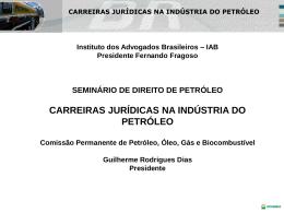 Apresentação da palestra - Dr. Guilherme Dias