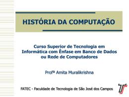 Aula2 - Informática da FATEC