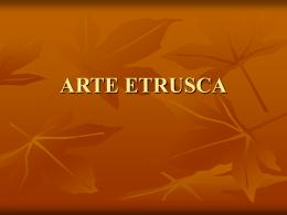 ARTE ETRUSCA - Objetivo Sorocaba