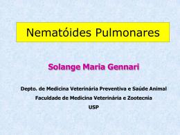 Nematóides Pulmonares
