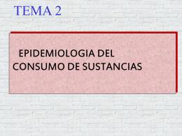 2- Análisis por sustancias