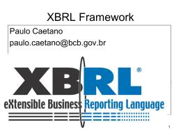 Documento de Instância XBRL