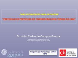 atualização em tromboembolismo venoso - CHSP