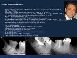 Casos Clínicos:Prof.Dr.Celso Luiz Caldeira