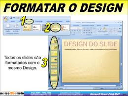 modo classificação de slides