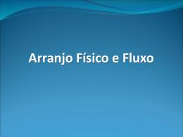 AULA 3 Arranjo Fisco e Fluxo