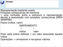 Arrays/Matrizes/Matrizes Esparsas/Pilhas/Filas/Filas Circulares