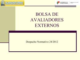Despacho Normativo nº 24/2012